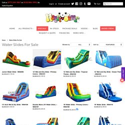 The Best Inflatable Water Slides For Sale - Happyjump
