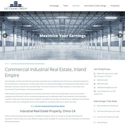 Industrial Real Estate Importance In Inland Empire