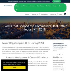 Events That Shaped The Commercial Real Estate