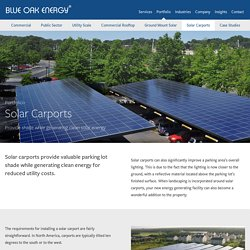Commercial Solar Carport Design & Installation