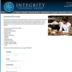 Commercial Auto Insurance NY