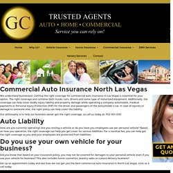 Commercial Auto Insurance North Las Vegas