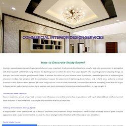 Best Commercial Interior Design Services In Delhi