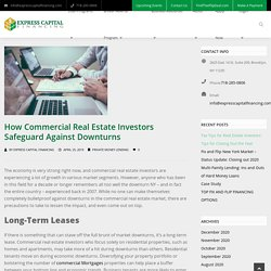 How Commercial Real Estate Investors Safeguard Against Downturns