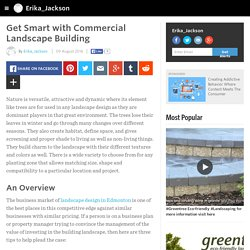 Erika_Jackson - Get Smart with Commercial Landscape Building