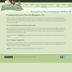 Commercial Landscaping in Hampton, VA