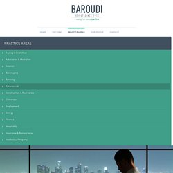 Commercial Law Firm Beirut, Lebanon - Baroudi & Associates