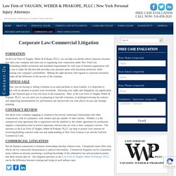 Commercial Litigation Lawyers New York