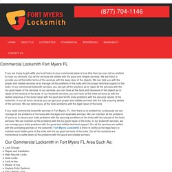 Commercial Locksmith Fort Myers FL