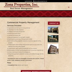 Commercial Property Management Rochester NY - Zona Properties