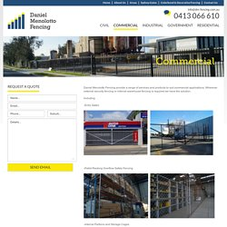 High Security Commercial Fencing in Sydney