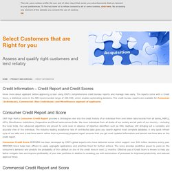 Consumer, Commercial, Microfinance Credit Bureau - CRIF Is One-Stop Shop