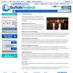 SFCU Commercial SBA Loans & Mortgages for Suffolk County