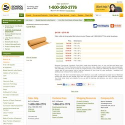 Norwood Commercial Furniture Franklin Cork Roll at School Outfitters