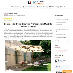 Commercial Patio – HD Clean