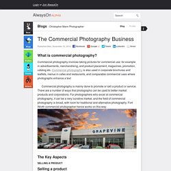 The Commercial Photography Business