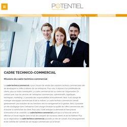 Cadre technico commercial, recrutement cadre commercial avec Potentiel : cabinet recrutement commercial