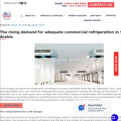 The rising demand for adequate commercial refrigeration in Saudi Arabia - TSSC - Technical Supplies and Services Co LLC