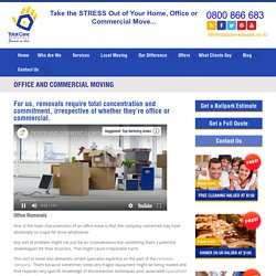 Office Removals Services NZ