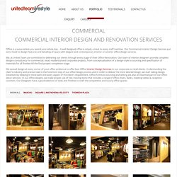 Commercial Renovation Services in Singapore