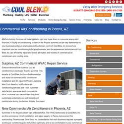 Hire Commercial Air Conditioning Service Provider in Peoria