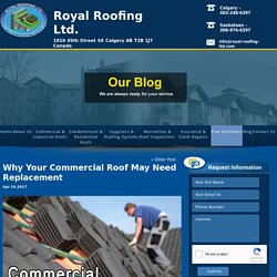 Why Your Commercial Roof May Need Replacement