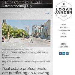 Regina Commercial Real Estate Looking Up – Logan Janzen, Sales Representative