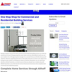 One Stop Shop for Commercial and Residential Building Services