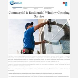 Commercial & Residential Window Cleaning Service