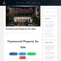 Commercial Property for Sale and residential in Bahria