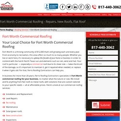 Fort Worth Commercial Roofing