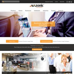 Commercial Security Systems, Business Security System - Avazonic