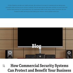 Commercial Security Systems Sonoma