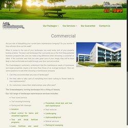 Commercial Lawn Maintenance Services in Edmonton