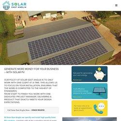 Commercial Solar – Solar East Anglia