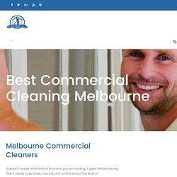 Best Commercial Cleaning Melbourne - Sparkleoffice