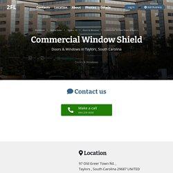 Commercial Window Film Installers