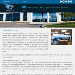 Commercial Window Tint Film
