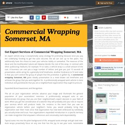 Commercial Wrapping Somerset, MA