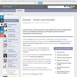 Action commerciale et exemples de plan d'action commercial - sélection d'articles
