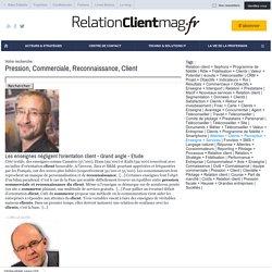 Pression, Commerciale, Reconnaissance, Client