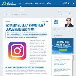 Instagram : de la promotion à la commercialisation - Veilletourisme.ca