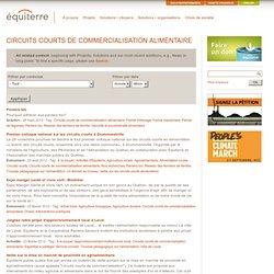 Circuits courts de commercialisation alimentaire