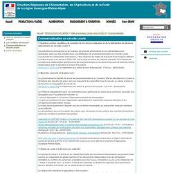 DRAAF AUVERGNE RHONE-ALPES 27/03/20 Commercialisation en circuits courts