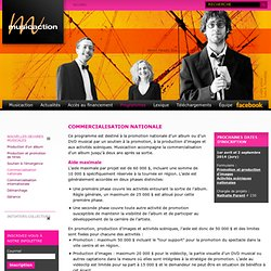 Commercialisation nationale