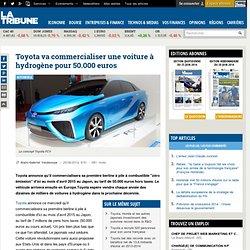 Toyota va commercialiser une voiture à hydrogène pour 50.000 euros