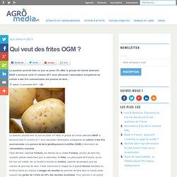 BASF veut commercialiser la première pomme de terre OGM