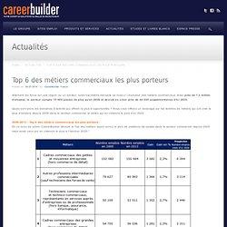 Top 6 des métiers commerciaux les plus porteurs