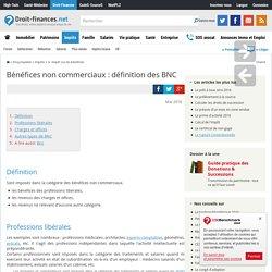 Bénéfices non commerciaux : définition des BNC