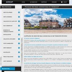Résidence Tourisme/Etudiante (Baux commerciaux)